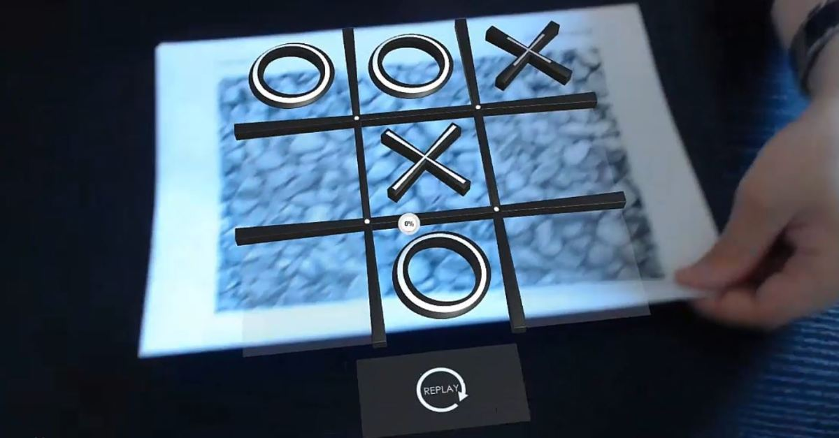 Augmented Reality Tutorial No. 42: Augmented Reality Noughts and Crosses Game